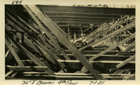 Lower Baker River dam construction 1925-07-01 30 I-Beams 4th Floor