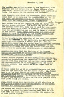 AS Board Minutes 1951-11