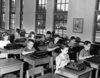 1946 Typing Class