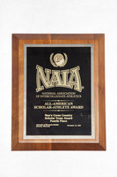 Cross-Country Running (Men's) Plaque: NAIA All-American Scholar-Athlete Award, Scholar Team Award, Fourth place, 1995