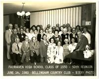 Fairhaven high school class of 1930 50th class reunion