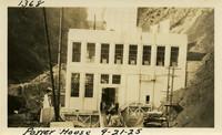 Lower Baker River dam construction 1925-09-21 Power House