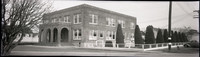 Pacific American Fisheries brick headquarters at Harris Avenue and 4th Street in Fairhaven