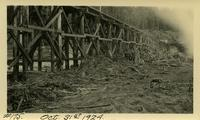 Lower Baker River dam construction 1924-10-31 Railroad bridge